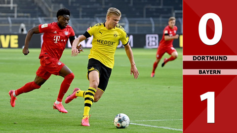 Dortmund 0-1 Bayern (Vòng 28 Bundesliga 2019/20)