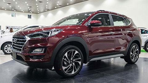 """Hyundai Tucson bất ngờ giảm giá """"sốc"""" tại VN, khiến Mazda CX-5, Honda CR-V suy sụp"""