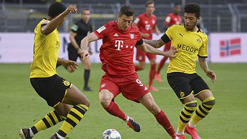Hạ Dormund ngay trên sân khách, Bayern chứng tỏ quyền lực tuyệt đối