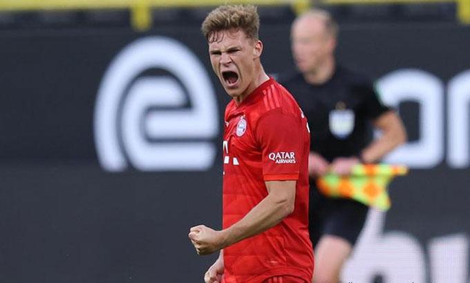 Kimmich ghi bàn duy nhất cho Bayern