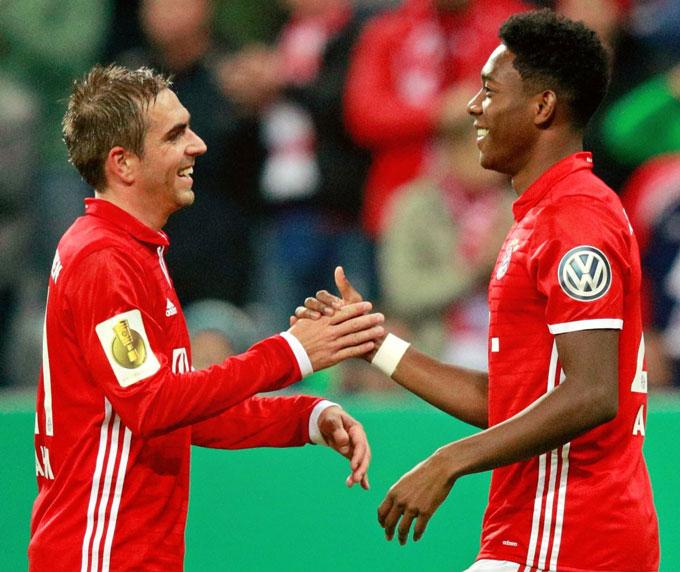 Bayern luôn sở hữu những hậu vệ biên xuất sắc trong thế kỷ này