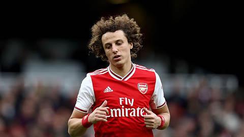 David Luiz có thể phải chia tay Arsenal chỉ sau 1 mùa