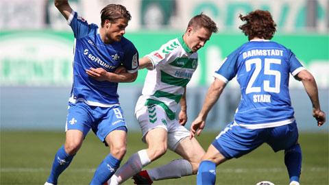 Nhận định bóng đá Darmstadt vs Fuerth, 23h30 ngày 29/5