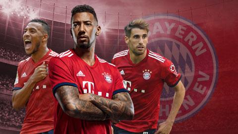 Boateng là 1 trong 3 cầu thủ có thể rời Bayern Hè này