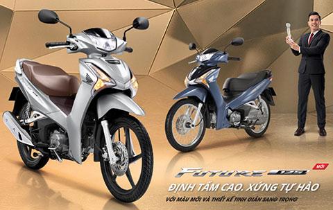 Honda chính thức mở bán Future FI 125cc phiên bản mới 2020