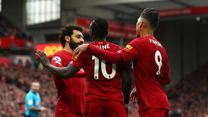 Liverpool chỉ cần 2 chiến thắng nữa là vô địch