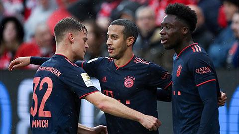 Tìm ra cặp tiền vệ hay nhất thế giới đương đại ở Bayern
