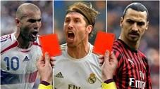 Đội hình ăn thẻ đỏ nhiều nhất mọi thời đại