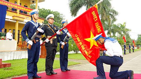 Lữ đoàn 147 tổ chức lễ tuyên thệ chiến sĩ mới năm 2020