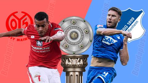 Soi kèo Mainz vs Hoffenheim, 20h30 ngày 30/5