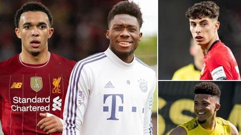 So sánh 3 tài năng trẻ sáng giá nhất của Premier League và Bundesliga
