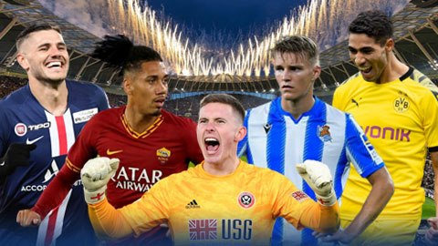 Hakimi, Icardi, Smalling & những bản hợp đồng cho mượn tốt nhất châu Âu mùa này