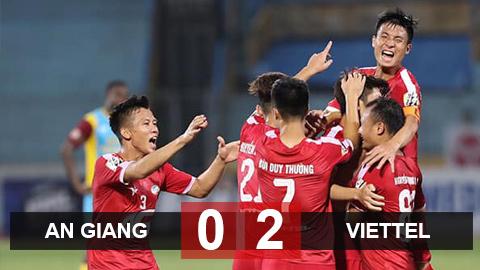 An Giang 0-2 Viettel(vòng 1/8 Cúp Quốc gia)