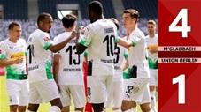 Mgladbach 4-1 Union Berlin (vòng 29 Bundesliga 2019/20)