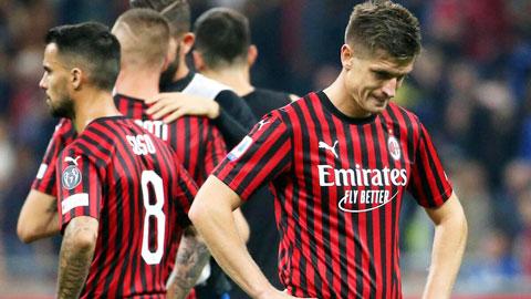 4 năm qua, Milan tăng trưởng tệ nhất châu Âu