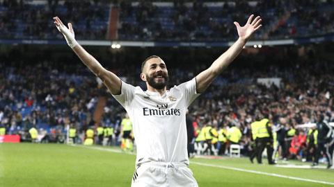 Real Madrid vẫn phải trông cả vào Benzema