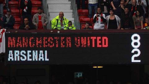 M.U 8-2 Arsenal (28/8/2011): Trận đại thắng phơi bày nhiều vấn đề