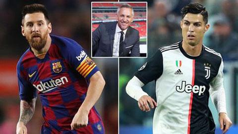 'Ronaldo chưa xứng tầm với Messi'