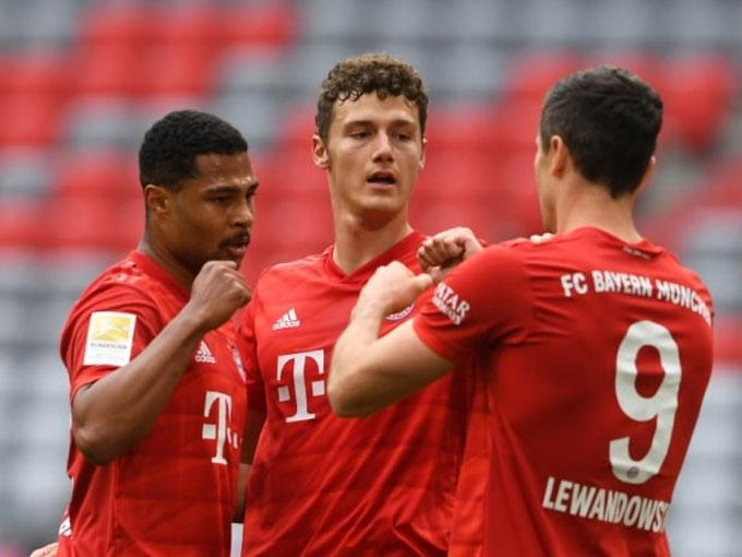 Bayern ở đẳng cấp quá cao so với Dusseldorf