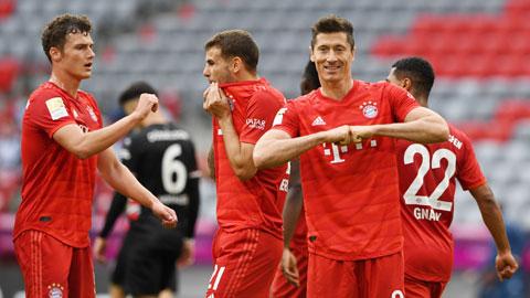 Bayern đá như chơi cũng vô địch đến nơi