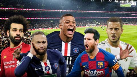 Ronaldo 'béo' chọn Messi, loại CR7 khỏi top 5 cầu thủ đáng xem nhất