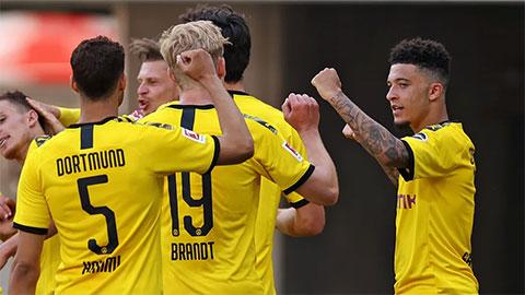 Tổng hợp vòng 29 Bundesliga: Nỗ lực muộn màng của Dortmund