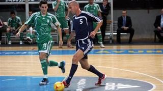 Zidane tham gia giải cứu futsal
