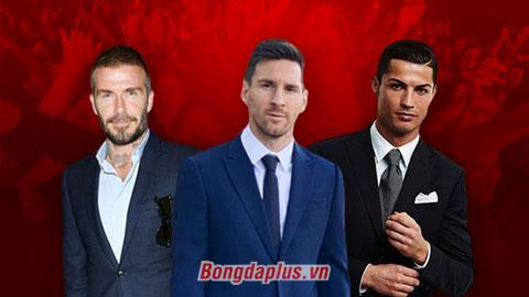 """Beckham dẫn đầu Top 10 sao bóng đá mà chị em muốn """"mây mưa"""" nhất"""