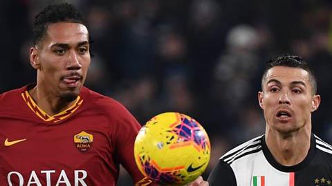 M.U cho phép Roma tiếp tục mượn Smalling