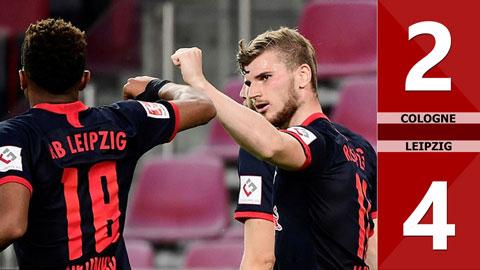 Cologne 2-4 Leipzig (vòng 29 Bundesliga 2019/20)