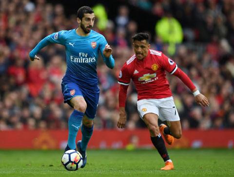 Cả M.U lẫn Arsenal đều sai lầm trong vụ trao đổi Mkhitaryan (trái) và Sanchez