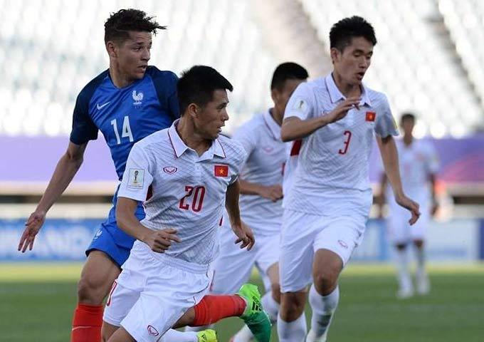Harit khiến Đình Trọng và hàng thủ U20 Việt Nam khổ sở