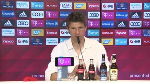 M.U từng muốn mua Mueller nhưng Bayern không bán