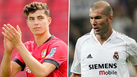 ''Havertz có sự tao nhã của Zidane''