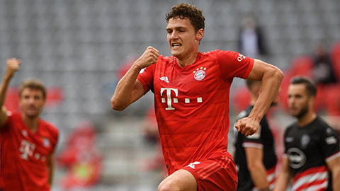 Pavard, ngôi sao của Bayern sau dịch Covid-19