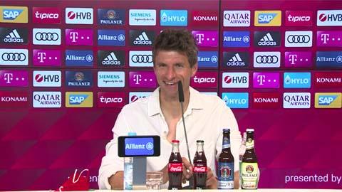 Thomas Mueller: 'Năm ngoái tôi đã nghĩ phải rời Bayern thôi'