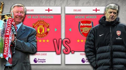 Sir Alex liệu có thực sự xuất sắc hơn Wenger?
