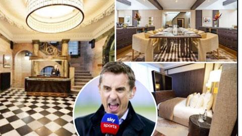 Neville mời sao Premier League thuê penthouse