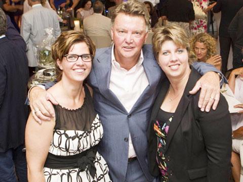 Nhờ hai con gái khuyên can, Van Gaal mới rút lại ý định từ chức HLV Ajax vào năm 1994