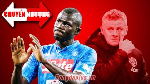 Tin đồn chuyển nhượng ngày 4/6: Napoli không đồng ý giá M.U hỏi mua Koulibaly