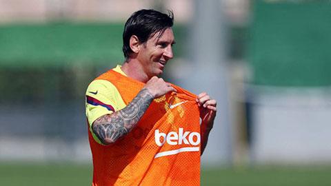 Messi có thể lỡ hẹn ngày La Liga trở lại do chấn thương