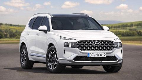 Hyundai Santa Fe 2021 lột xác tuyệt đẹp, giá mềm, khiến Toyota Fortuner, Ford Everest 'suy sụp'