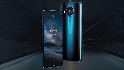 Nokia 8.3 5G đẹp mê ly, chạy chip Snapdragon 765G, pin 4500mAh, camera 64MP, giá 'ngon' chuẩn bị mở bán