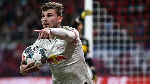 Liverpool, M.U và Chelsea còn 10 ngày mua Werner với giá bèo