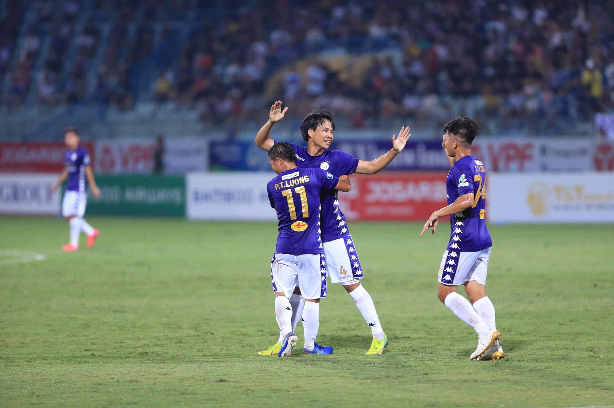Hà Nội FC hạ quyết tâm giành chiến thắng trước HAGL ở vòng 3 V.League 2020 - Ảnh: Đức Cường