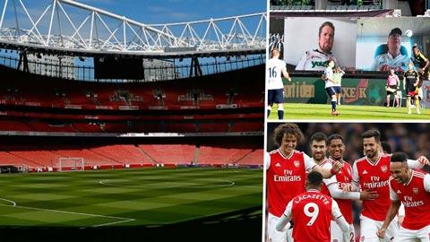 Arsenal tính xài vũ khí công nghệ làm lung lạc tinh thần Man City