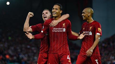 Liverpool vượt M.U đứng đầu top 10 CLB được yêu thích nhất Vương quốc Anh