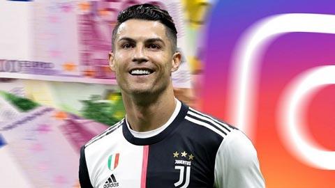 Ronaldo kiếm tiền nhiều nhất thế giới từ Instagram, hơn cả 2 em gái Kim 'siêu vòng ba'