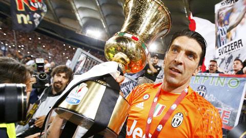 Buffon và cột mốc lịch sử ở Coppa Italia