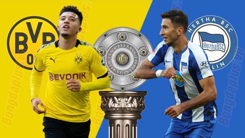 Nhận định bóng đá Dortmund vs Hertha, 23h30 ngày 6/6: Thắng để nuôi hy vọng mong manh